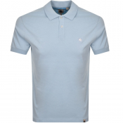 Pretty Green Jersey Polo T Shirt Blue