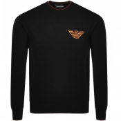 Product Image for Emporio Armani Crew Neck Knit Jumper Black