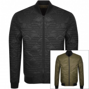 Product Image for Emporio Armani Reversible Bomber Jacket Black