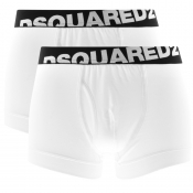DSQUARED2 Underwear 2 Pack Trunks White