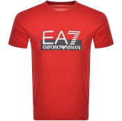 Product Image for EA7 Emporio Armani Visibility T Shirt Red