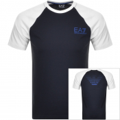 EA7 Emporio Armani 7 Colours T Shirt Navy