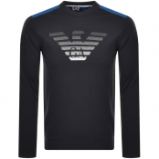 Product Image for EA7 Emporio Armani 7 Lines Sweatshirt Navy