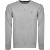 Product Image for Ralph Lauren Crew Neck Sweatshirt Grey