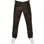 Carhartt Aviation Camo Cargo Trousers In Green