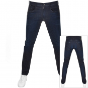 Product Image for Replay Anbass Hyperflex Jeans Navy