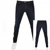 Product Image for G Star Raw 3301 Slim Fit Jeans Navy