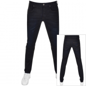 Product Image for G Star Raw D STAQ 5 Pocket Slim Fit Jeans Navy
