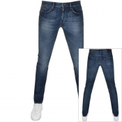 Product Image for BOSS HUGO BOSS Delaware Slim Fit Jeans Blue