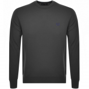 Fred Perry Crew Neck Knit Jumper Grey