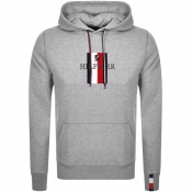 Product Image for Tommy Hilfiger Logo Hoodie Grey