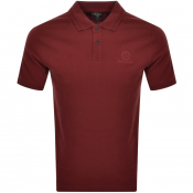 Product Image for Belstaff Shot Sleeved Polo T Shirt Red