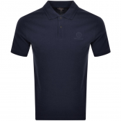 Product Image for Belstaff Shot Sleeved Polo T Shirt Navy