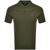 Product Image for Belstaff Shot Sleeved Polo T Shirt Green