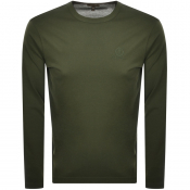 Product Image for Belstaff Long Sleeved Logo T Shirt Green