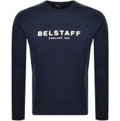Product Image for Belstaff 1924 Crew Neck Sweatshirt Navy