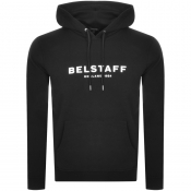 Product Image for Belstaff Pullover Logo Hoodie Black