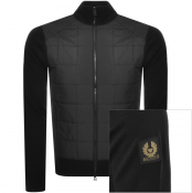 Product Image for Belstaff Kelby Full Zip Knit Jumper Black