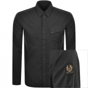 Product Image for Belstaff Long Sleeved Pitch Shirt Black