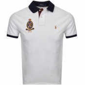 Ralph Lauren Custom Slim Fit Polo T Shirt White