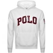 Ralph Lauren Polo Fleece Hoodie White