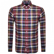 Ralph Lauren Long Sleeved Check Shirt Red