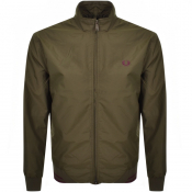 Fred Perry Twin Tipped Jacket Green