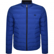 Fred Perry Insulated Padded Jacket Blue