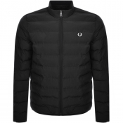 Fred Perry Insulated Padded Jacket Black