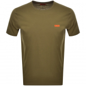 Product Image for HUGO Dero 194 T Shirt Khaki