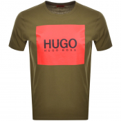 Product Image for HUGO Dolive 194 T Shirt Khaki