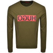 Product Image for HUGO Dicago 194 Sweatshirt Khaki