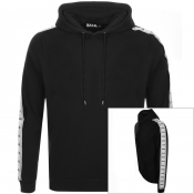 Product Image for BALR Repeat Tape Logo Hoodie Black