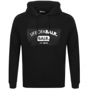 BALR Life Of A Balr Club Logo Hoodie Black