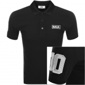 BALR Club 10 Logo Polo T Shirt Black