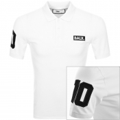 BALR Club 10 Logo Polo T Shirt White