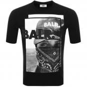 BALR Black Label Bandana T Shirt Black