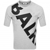 Product Image for BALR Tilted Logo T Shirt Grey