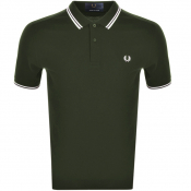 Fred Perry Made In Japan Tipped Polo T Shirt Green