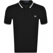 Product Image for Fred Perry Made In Japan Tipped Polo T Shirt Black