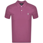 Product Image for Psycho Bunny Classic Polo T Shirt Pink