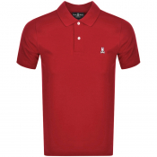 Product Image for Psycho Bunny Classic Polo T Shirt Red