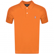 Product Image for Psycho Bunny Classic Polo T Shirt Orange