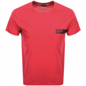BOSS HUGO BOSS Crew Neck T Shirt Red
