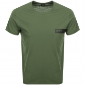 BOSS HUGO BOSS Crew Neck T Shirt Khaki