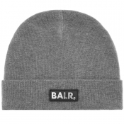 Product Image for BALR Black Box Logo Beanie Hat Grey