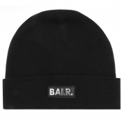 Product Image for BALR Black Box Logo Beanie Hat Black