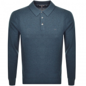 Product Image for Michael Kors Long Sleeved Polo Blue