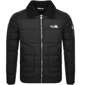 Product Image for BALR Shearling Collar Padded Jacket Black