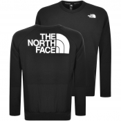 The North Face Crew Neck Logo Sweatshirt Black